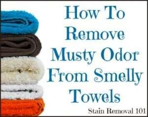 musty odors